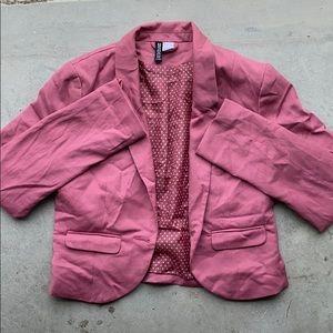 Cropped blazer